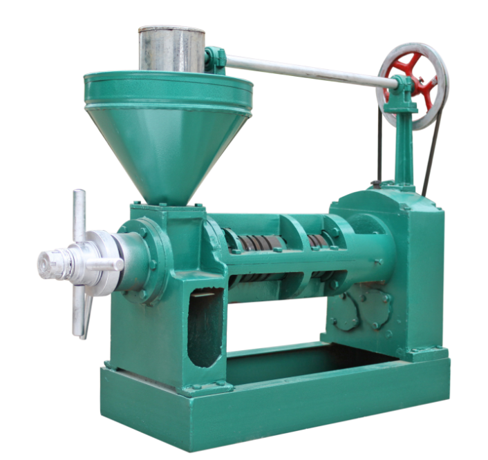 Screw Cold Pressing Mustard Sunflower Seed Palm Oil Press Machine