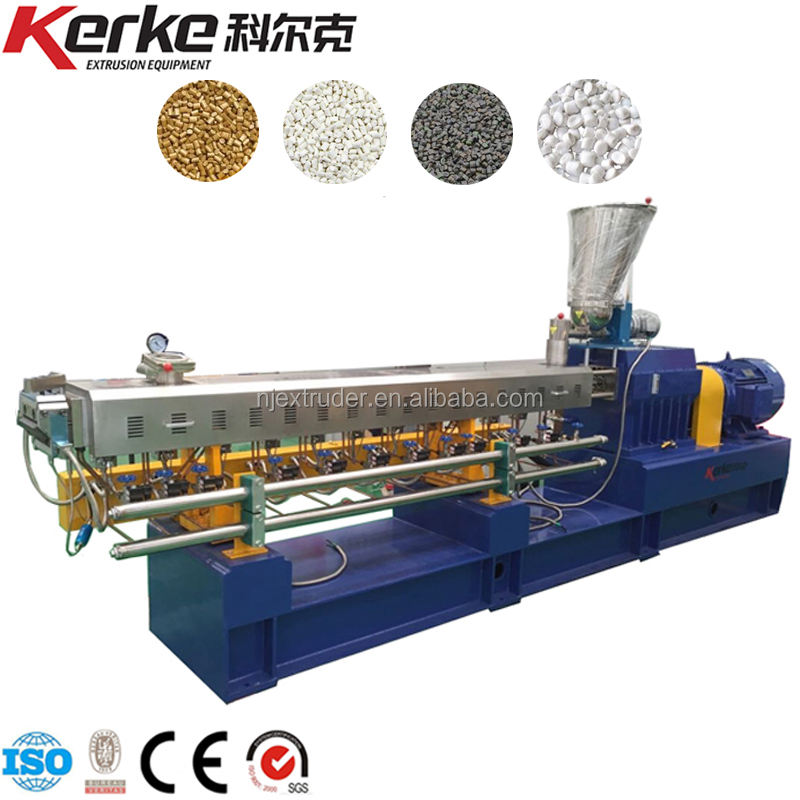 Twin Screw Wood Plastic Extrusion Machine Extruder