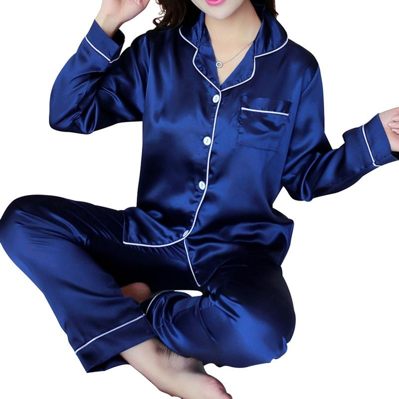 Hot Style Home Wear Pajamas Suit Autumn Winter Long Sleeve Pants Pajamas for Women