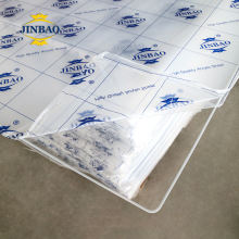JINBAO 1.8-25mm customize 4*8ft 1220*2440mm price clear acrylic sheet transparent pmma sheet plastic sheets