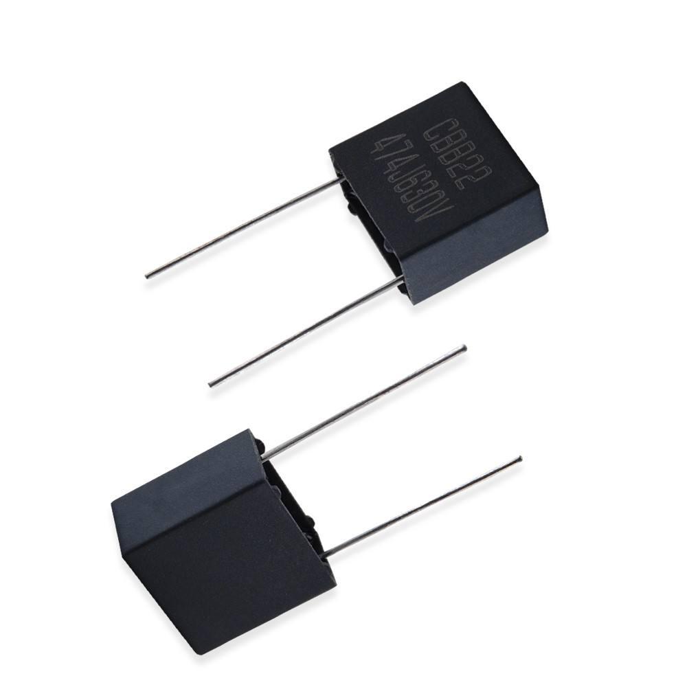 0.47 uF 50 Volt Monolithic Epoxy Dipped Capacitor 20 pcs