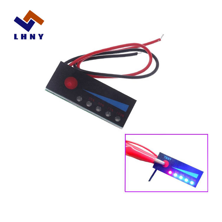 18.5V Fully Charge 21V Lithium Battery Level Indicator Tester Percentage Indicator Board LCD Display Meter Module Capacity