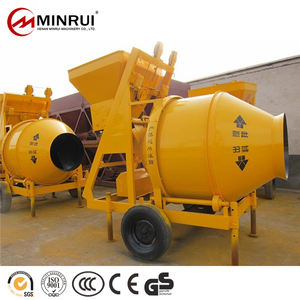 300 Litre Machine Videos JZC Concrete Mixer Wheel Barrow