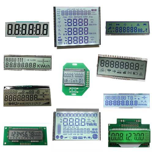 TN STN HTN FSTN VA Monochrome Digit Customized LCD Display 7 segment Custom Size LCD Screen for Water Meter/Energy Meter