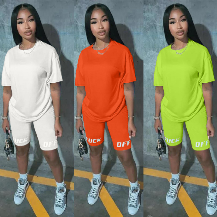 Casual Sets For Womens Summer Short Two Piece Set Clothing Summer