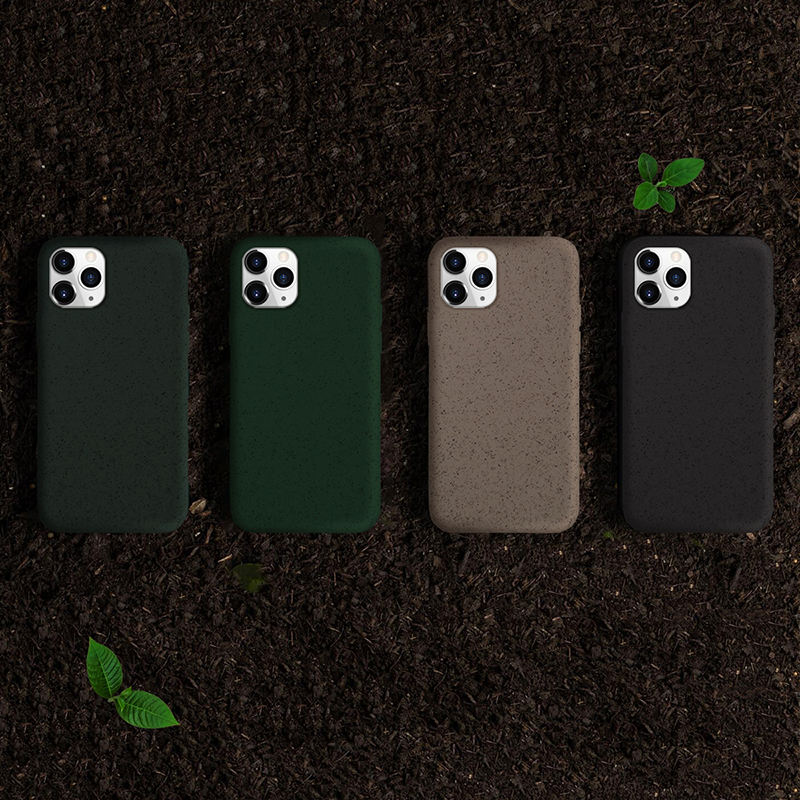 TENCHEN 100% Compostable Biodegradable Mobile Phone Case For Iphone 11 case