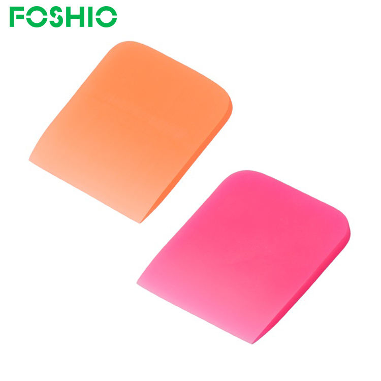 New Arrival Pink Rubber Vinyl PPF Window Tint Squeegee for Car Wrapping