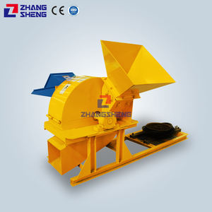 Factory direct sale high quality waste sawdust wood shavings press machine wood hammer mill
