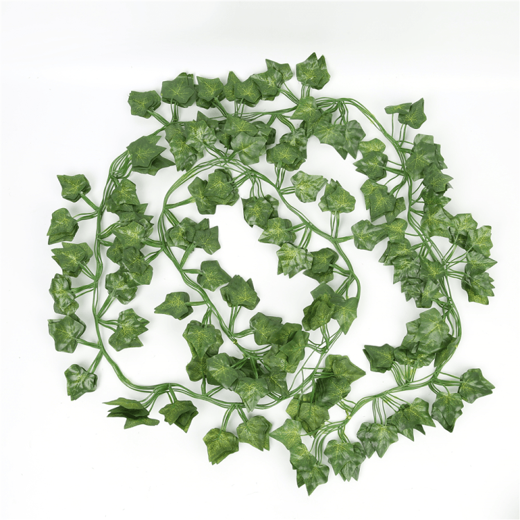 Hot selling artificial ivy vines decoration wedding party decoration rattan artificial ivy vines