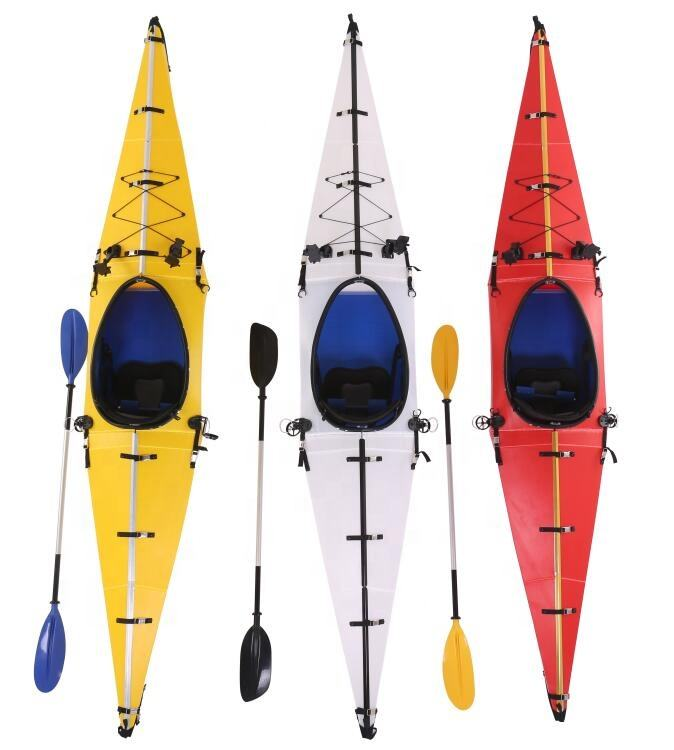Top sale new design backpack ocean single foldable kayak