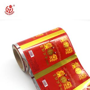 Wholesale High Quality Food Packaging Plastic Film Roll With Custom Printed