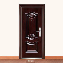 Zhejiang yongkang factory Professional security armored door Security Steel Door with Frame