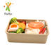 Hot new products leak proof rice husk lunch box biodegradable takeaway food container