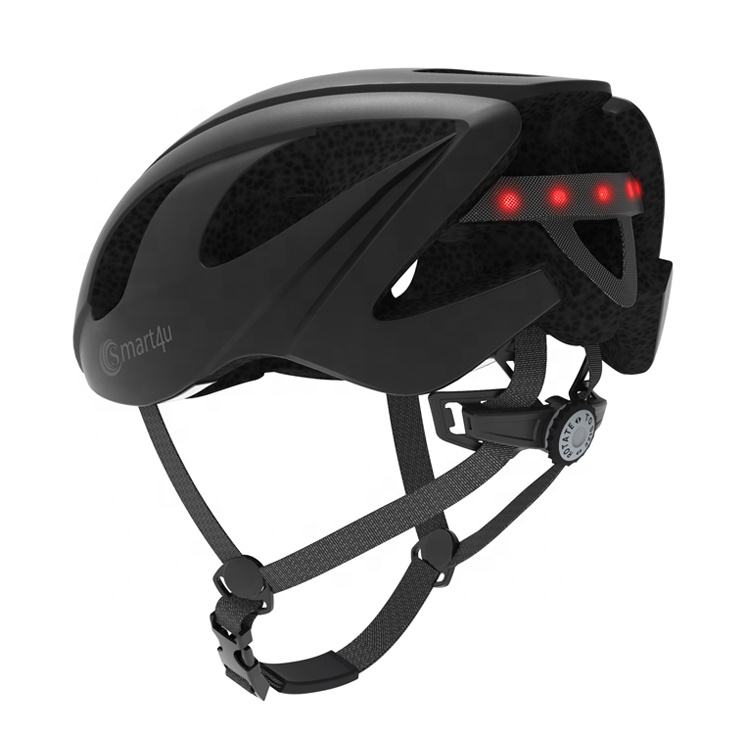 Rear Light Urban Commuter wireless bluetooth safe Adjustable Adult LED Smart Bike Helmet Cycling Helmet