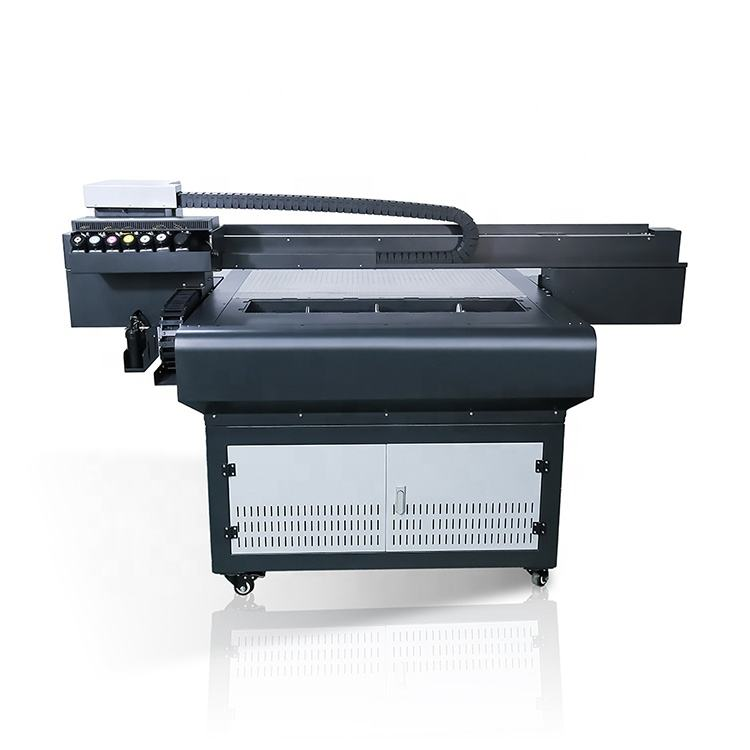 Machinery Repair Shops A1 Flatbed Printer Big Promotion Digital A1 Metal Surface Printing Machine Flatbed Printer