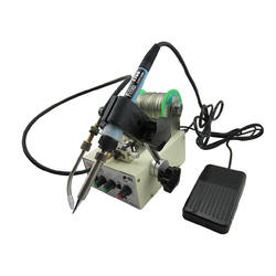 Automatic tin feeding machine constant temperature soldering iron Teclast iron multi-function foot soldering machine