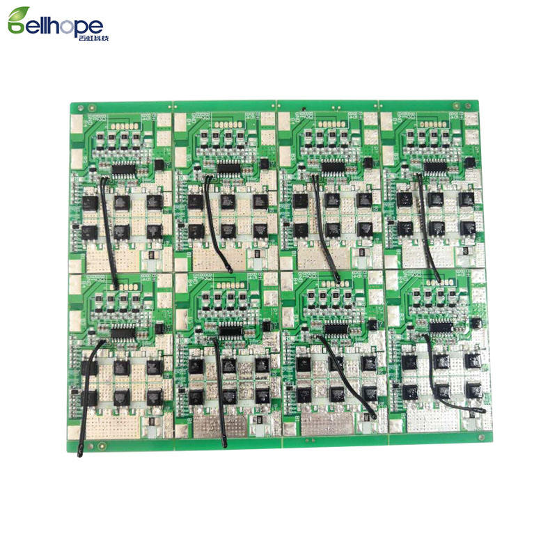 Bellhope 4S 20a 3.2V LifePo4 Lithium Li-ion Protection Board 12.8V High Current Inverter Board BMS PCM 4 Pack