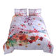 5 Star Luxury Polyester Microfiber Duvet Covers Watercolor Painting Printed Sheets Bed Housse DeCouette music note duvet cover
