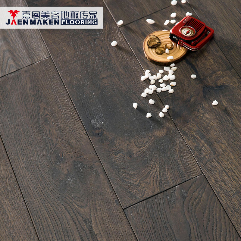 Grey Noble House Decoration Wide European White Oak Plank Engineered Wooden Flooring 20mm