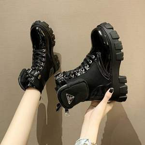 Exempt postage Big yards Marca dragon color High heels Fashion short boots