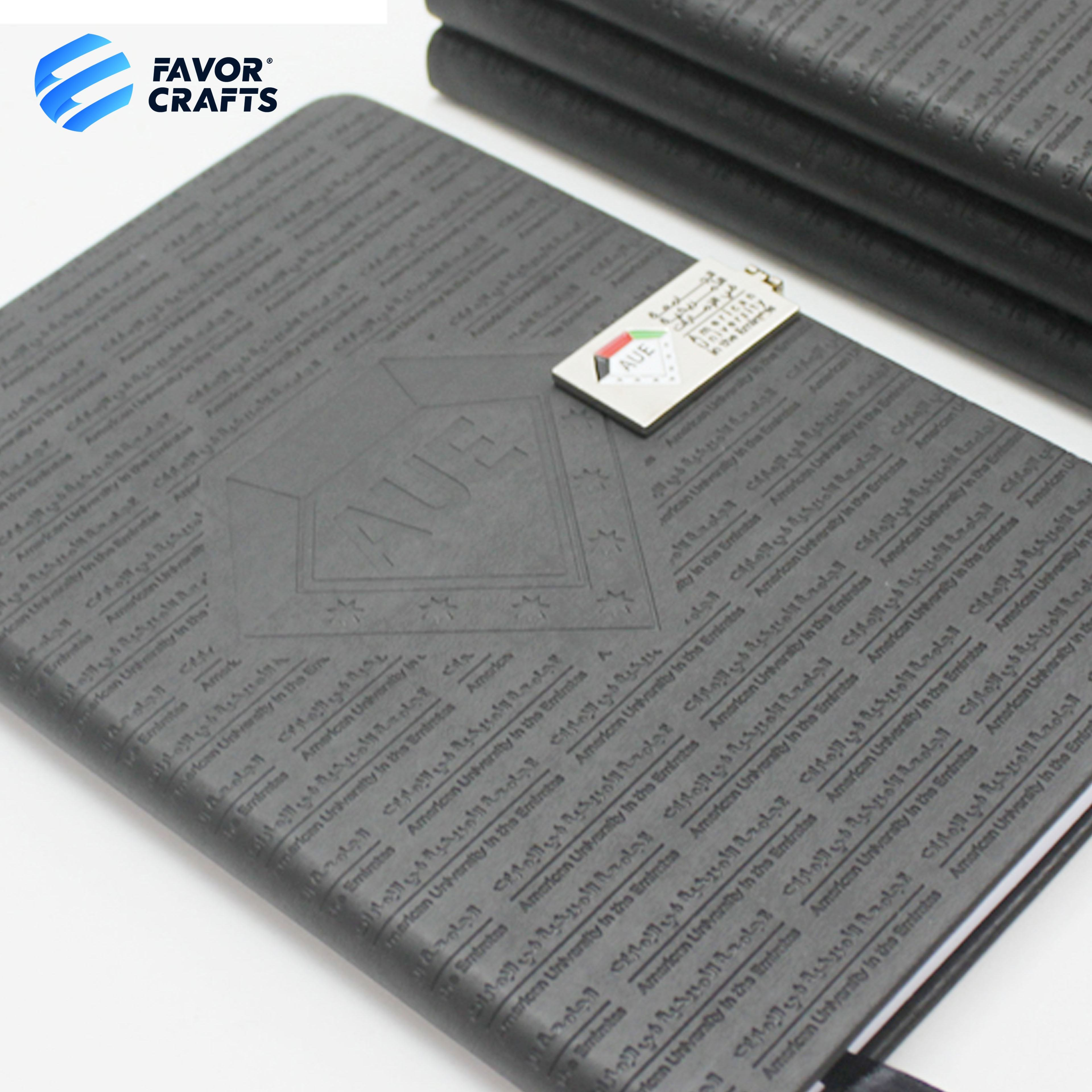 promotional items Premium Quality free design custom printed A5 hardcover pu leather note book