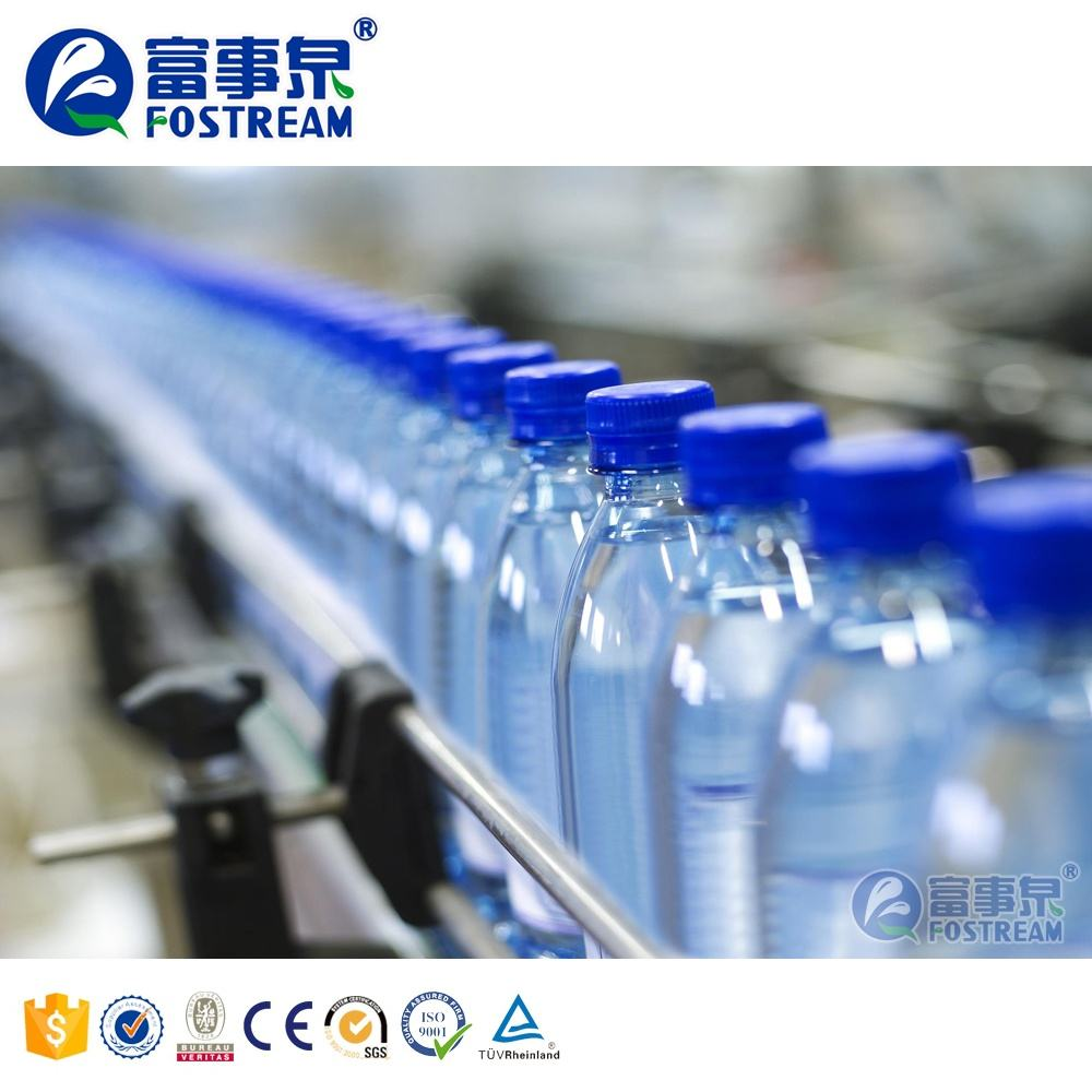 Full Set Complete Automatic PET Plastic Small Bottle Drinking Mineral Water Production Line / Bottle Water Filling Machine