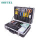 (For SC/ST/FC and LC Connectors) Deluxe Anaerobic Field Quick Termination Tool Box Fiber Optic Tools