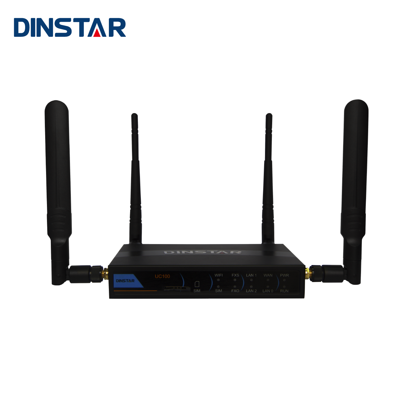 Mini GSM 4G LTE Router SIP Server Wifi Kartu SIM IP PBX