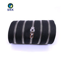 Metal zipper for handbag