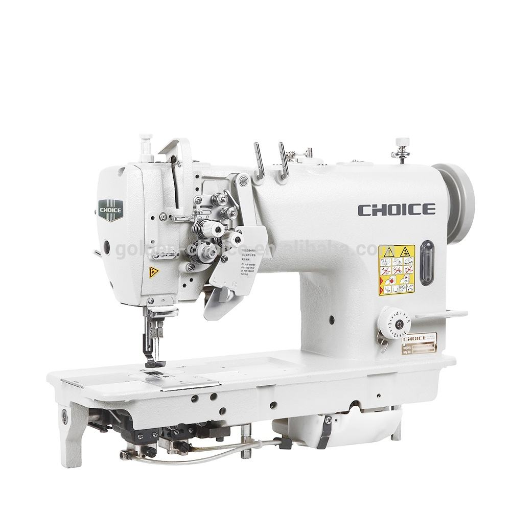 Golden Choice GC842 double needle lockstitch sewing machine