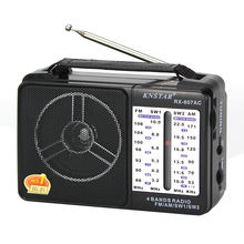 KNSTAR Factory Sale AC DC Classical AM FM SW1-2 4 Bands Radio Receiver