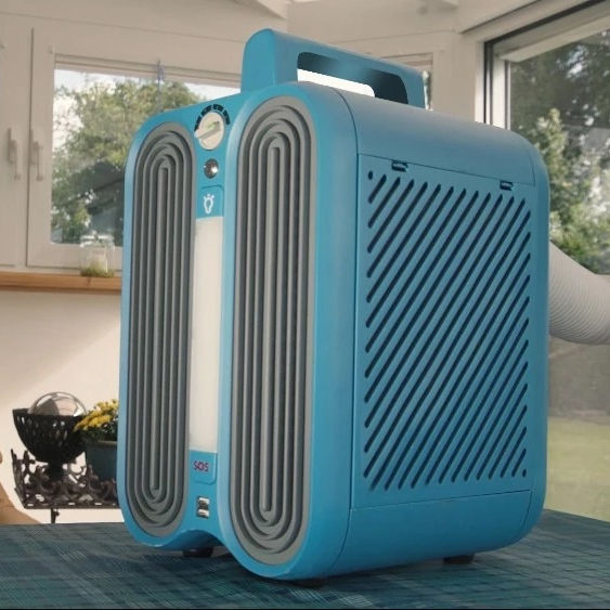 Portable Solar Powered Zero Breeze Mini Air Conditioner