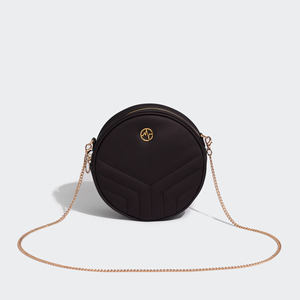 Midnight round evening clutch bags Chameleon leather clutch evening bags