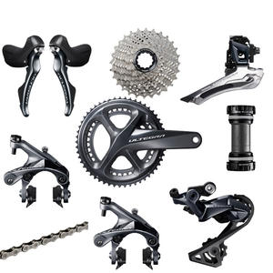 SHIMANO R8000 Groupset ULTEGRA R8000 Derailleurs ROAD Bicycle 50-34 52-36 53-39T 165 170 172.5 175MM 11-25 11-28 11-32T