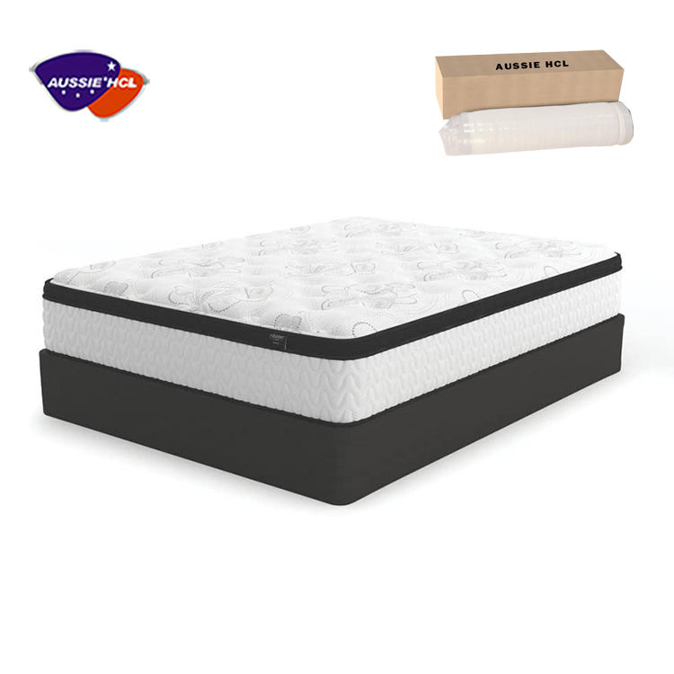 Letto di schiuma di Memoria Per Il Formato King Air Topper Regina Cuscino Gel Materassi Box Hotel In Lattice Naturale Euro Top Tasca materasso a molle