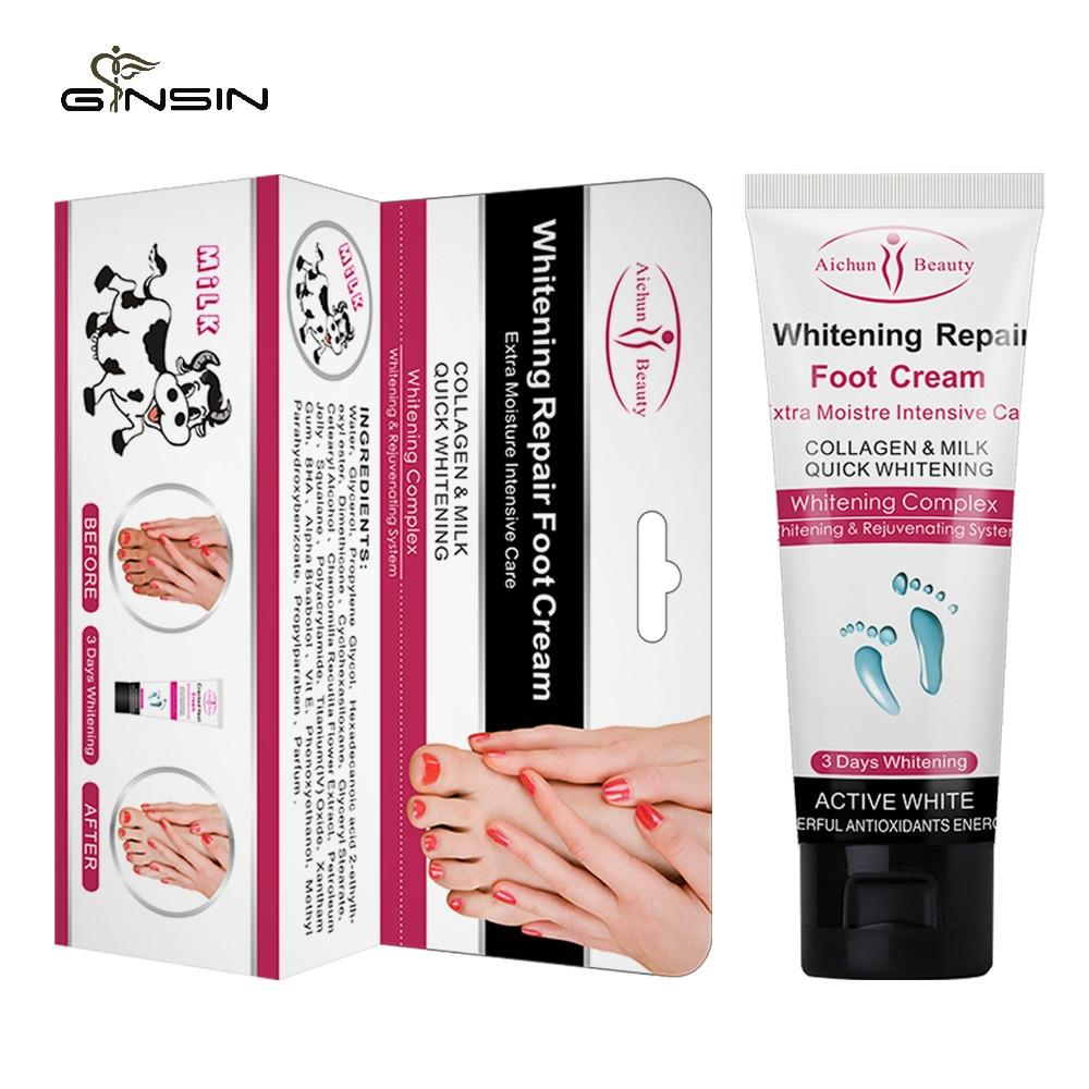 Wholesale Beauty Feet Cream Anti Dry Crack Moisturizing Whitening Exfoliating Collagen Milk Foot Cream