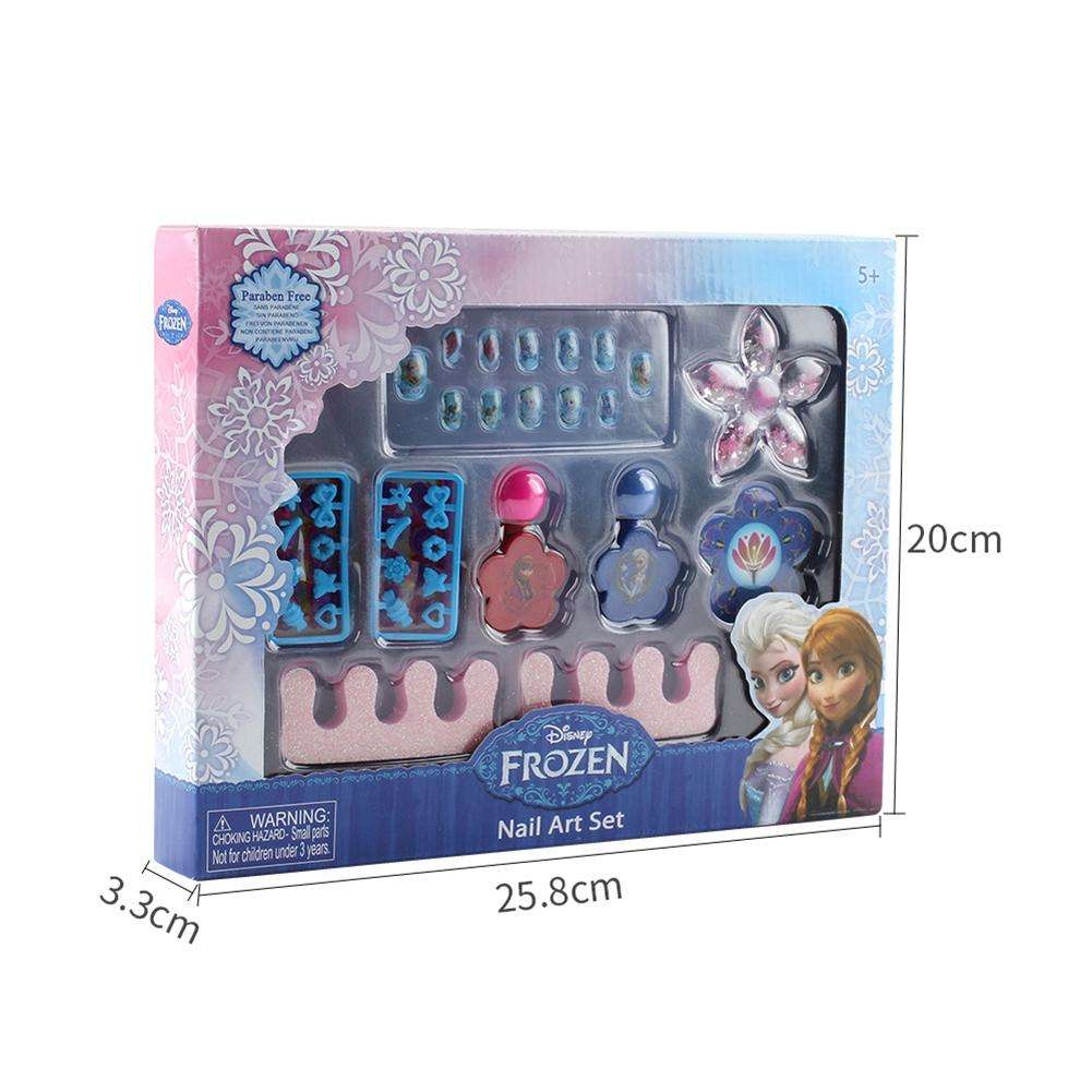 Frozen Nail Polish Princess Girls Toys Nontoxic Nail Polish Makeup Set Kids Cosmetics Toys For Girls