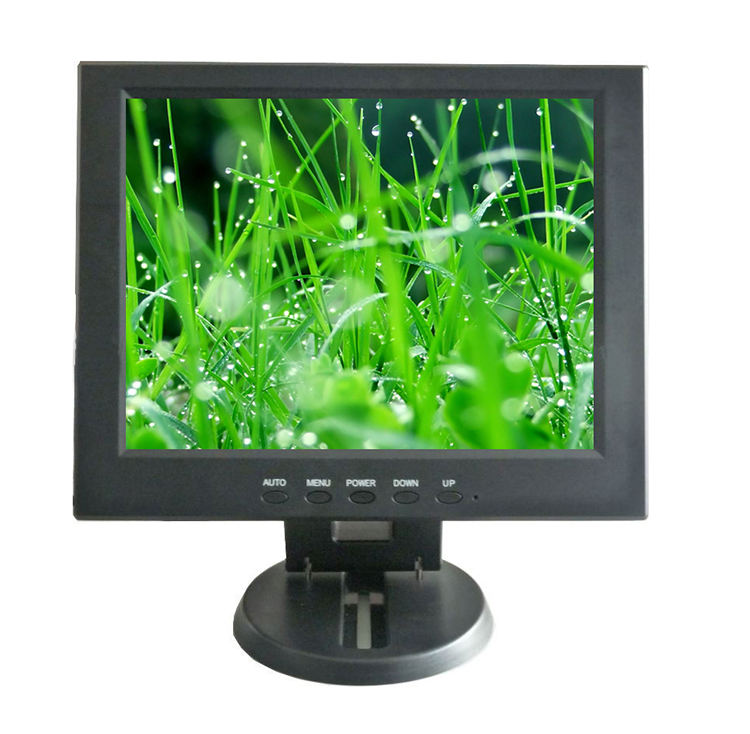 Small 12 inch Lcd Monitor for Car, POS