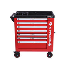 2020 Best Sell 7 drawers cheap tool cabinets with side door in Europe Market