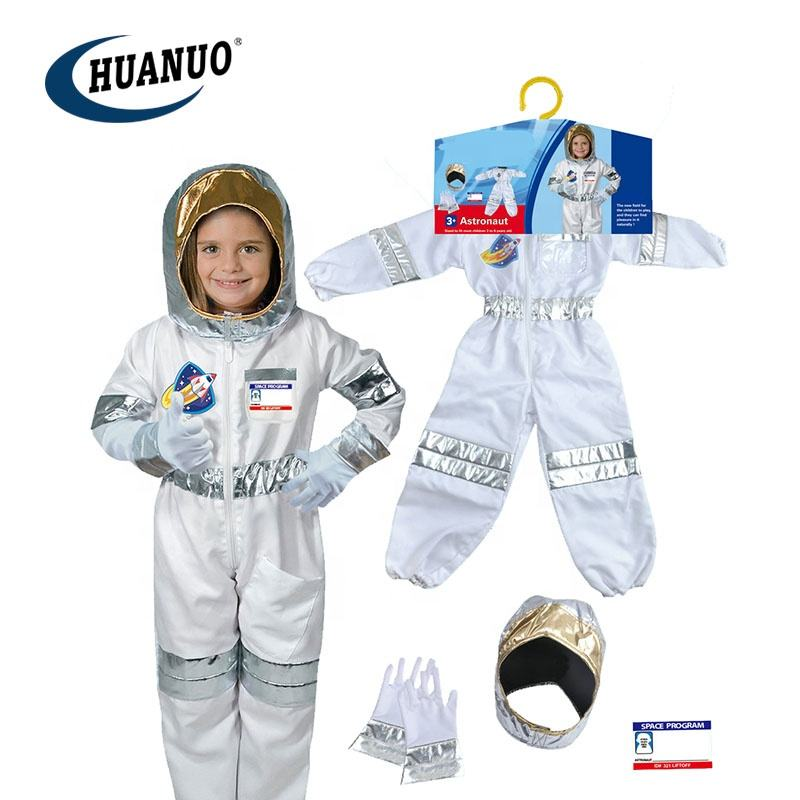 Hot sale halloween costume for children astronaut cosplay space suit costume