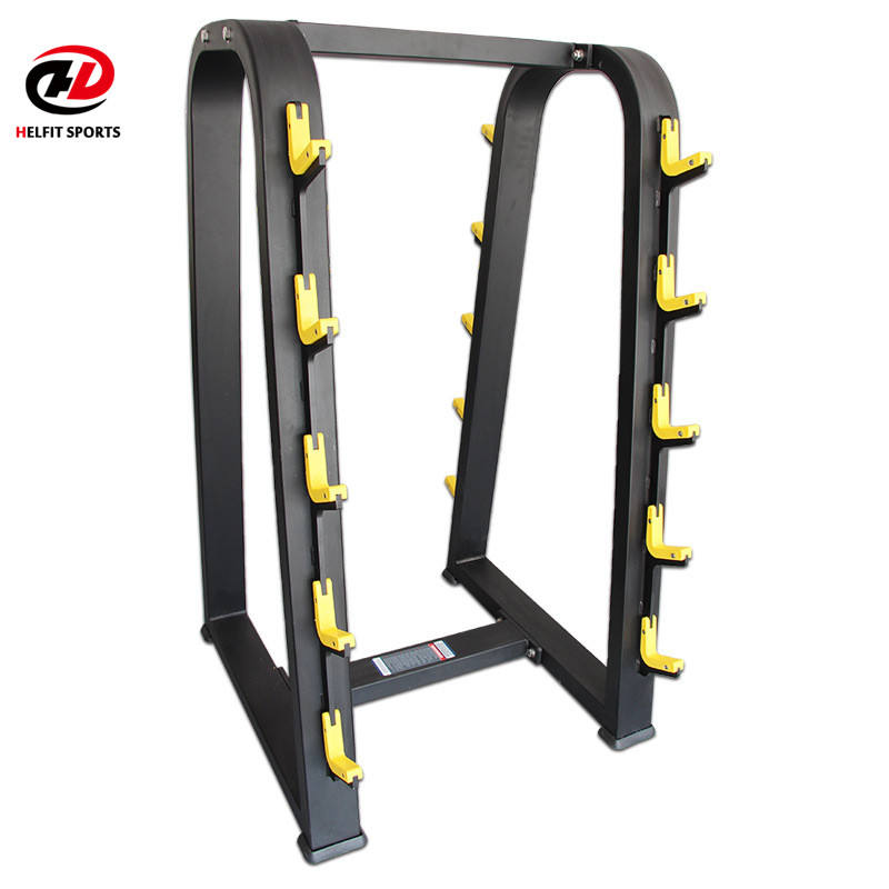 China atacado Made Equipamentos de Ginástica Comercial 10 Pares Barbell Rack