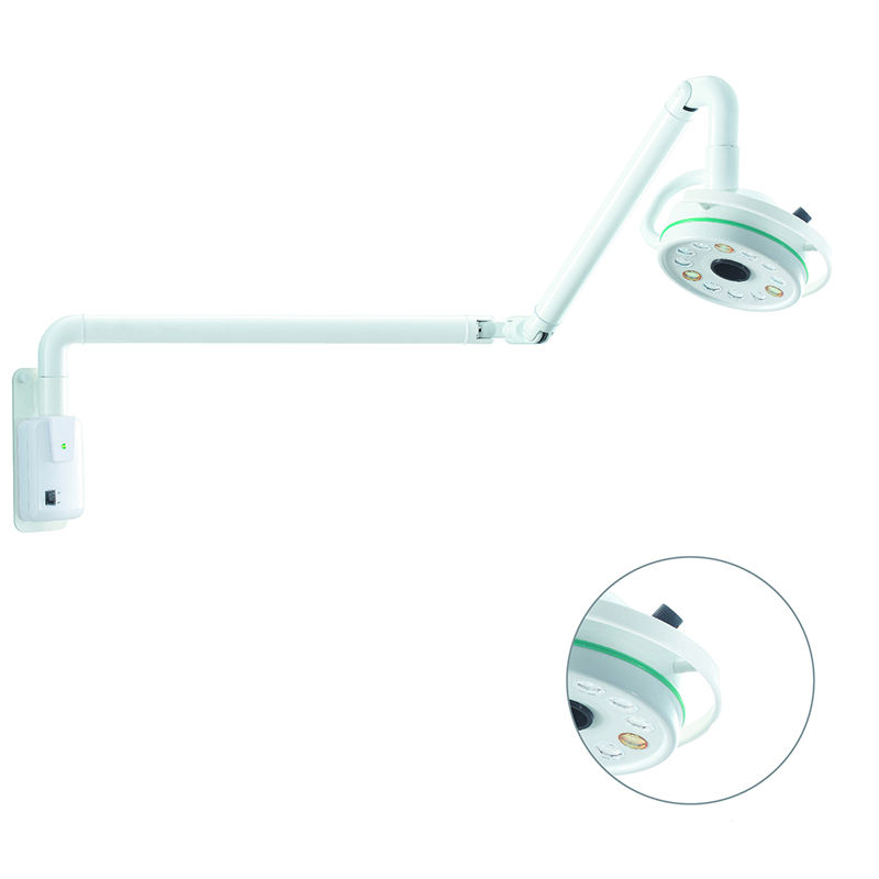 Hospital Operating Room Equipment Wall Mounted Medical Examination lamp manufacturer for Dental Clinic