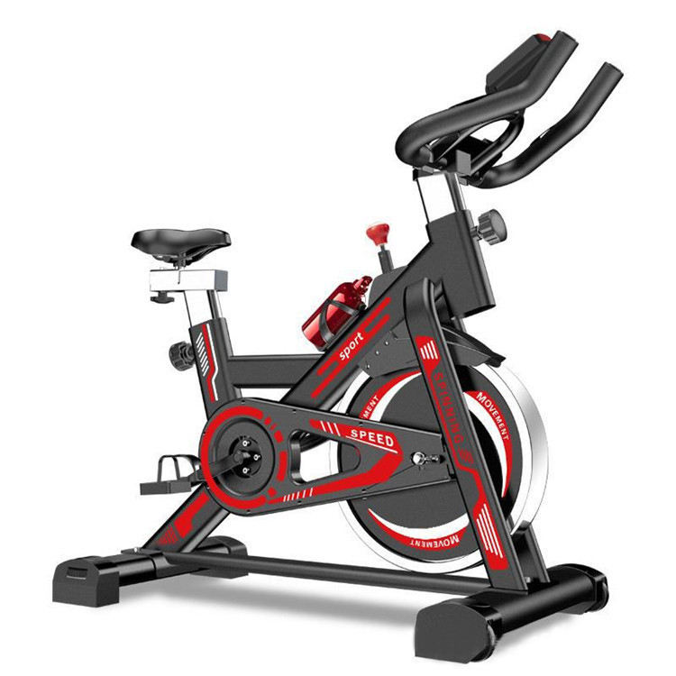 Hot Sales Home Gym Exercise Bike Spin Bike 2019 Fitness Equipment Black Body Logo Building