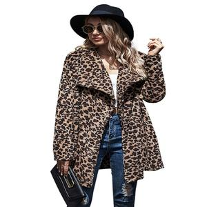 2021 Women Fashion Winter Warm Coats Long Casual Turn-down Collar Wool Jackets Female Solid Buttons Outwears