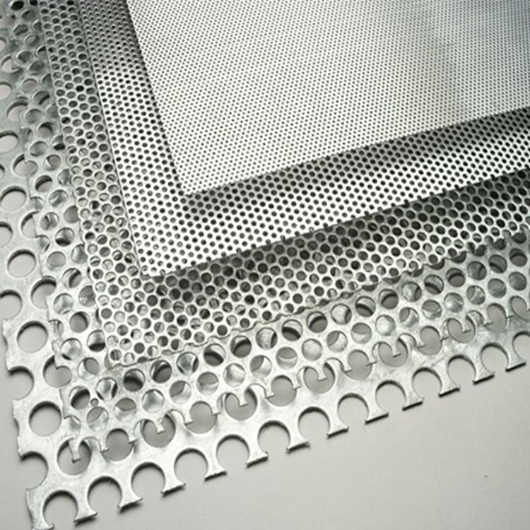 Micro hole galvanized stainless steel perforated metal mesh sheet for tray