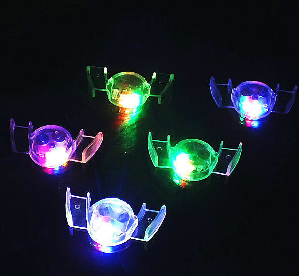 LED Flashing Mouthpiece Muticlors Flashing Glow LED Mouthpiece Teeth Light Party Halloween Guard Rave Party Gift