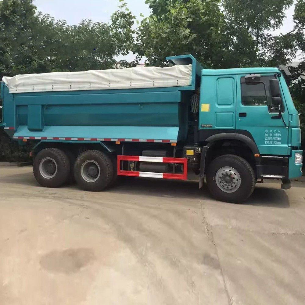 Sinotruck HOWO 6x4 New and Used Tipper Dump Trucks