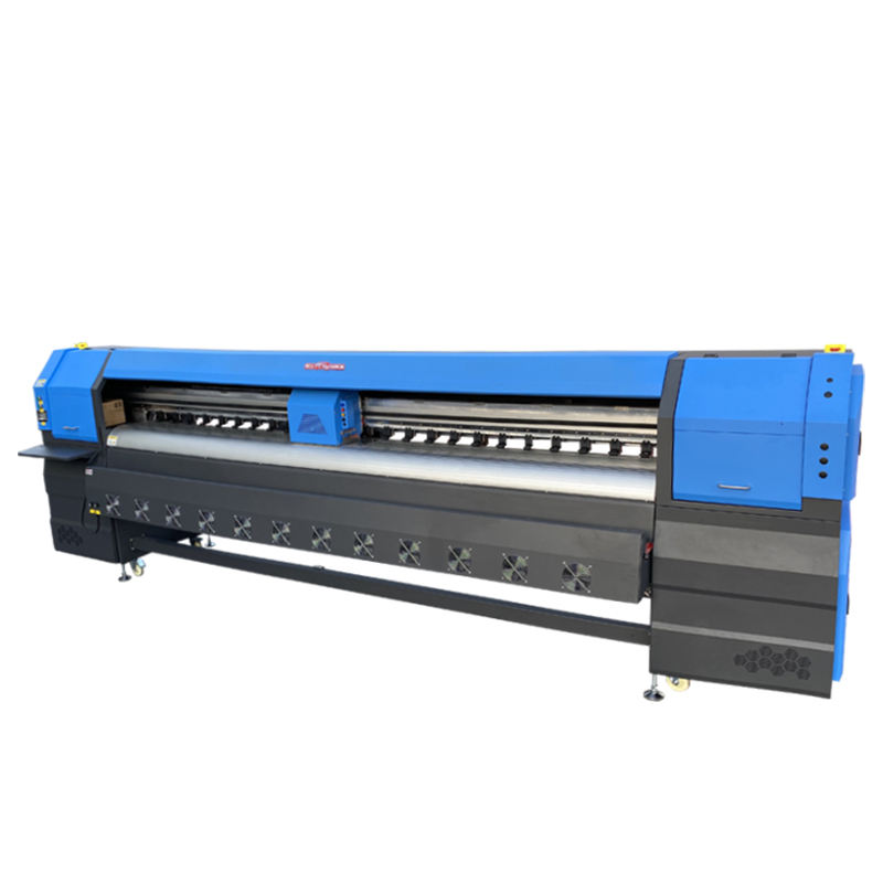 KINGJET 3.2 m konica 512 42pl 8 head large format outdoor printing machine