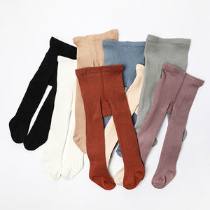 Baby Little Girls Children Cable Knit Wool Like Acrylic Soft Tights Leggings Stocking Pants
