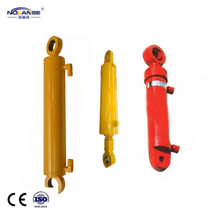 Trunnion Mounting Mini Tractor Hollow Plunger Band Saw Hydraulic Cylinder